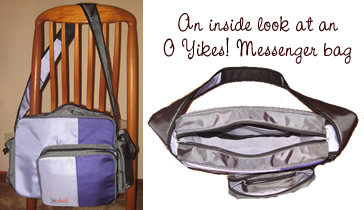 O Yikes! Messenger bag